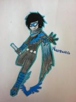Nightwing by SuperSpecialOzsome