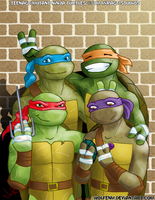 TMNT: Family Portrait by WolfenM