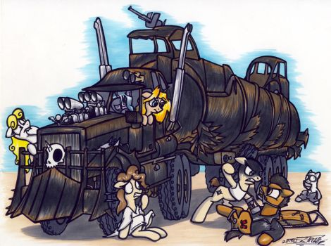 Mad Max by Sketchywolf-13