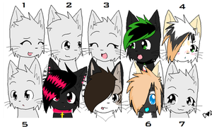 My collab parts :3 by ESponi