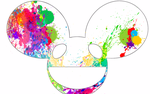 Mau5 head design: splattermau5 by BassBunniOfficial