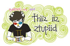 a card from sollux by Hyperactive-Kitteh