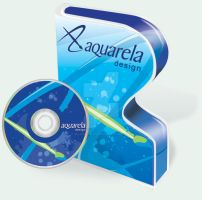 Aquarela Design Software box by mj-coffeeholick