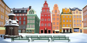 Stortorget square by X-Factorism