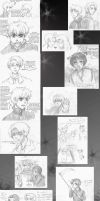 EH: Hotel Hetalia Doodles by ExclusivelyHetalia