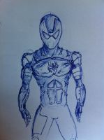 iron spider?? by dragonite838