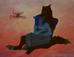 COMMISH3: darlenewolfen by Freakzter