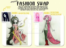 Fashion swap meme by The-Girlwith-Glasses