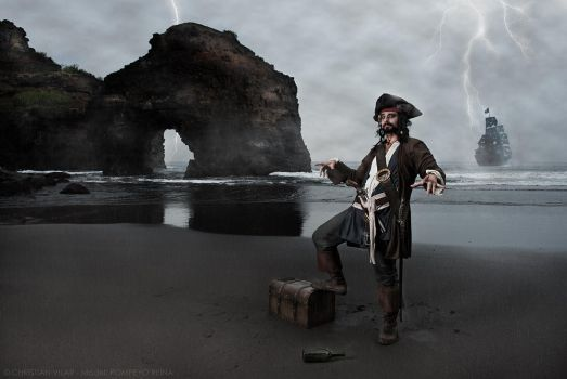 Captain Jack Sparrow - Cosplay Project #7 by Chrissett