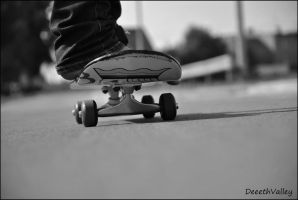 skateboard by DeeethValley