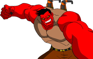 Red HULK by steeven7620
