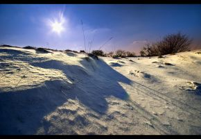 Snow like sand by JoInnovate
