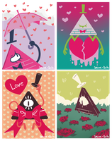 ...Triangular Valentine... by Insane-Dorito