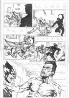 Wolverine Disturbing Consequences Pag 4 Sample by IgorChakal