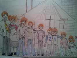 Family Photo, Weasley Style by N3RDhumor