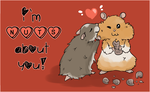 I'm nuts about you! by teabut