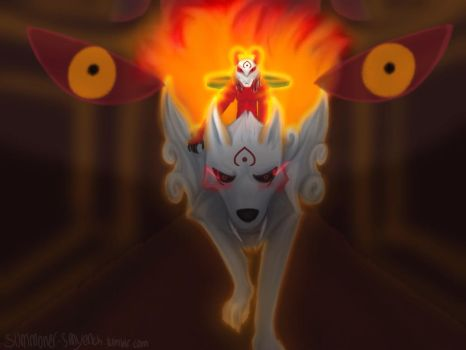 League of Legends OC: Blood Moon Zoey and Chuy by blackandredwolf96