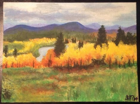 Autumn in Steamboat Springs by lovely-mint-jelly