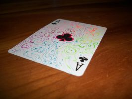 Ace of Clubs by DorkyPumpkin