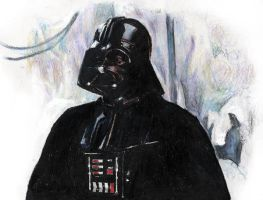 Vader on Hoth by RobD4E