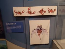 original sketches for charecters by vienna2000