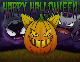 Happy Halloween 2012 by Red-Flare