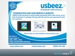USBEEZ Rebrand Mailout by Perfectedesigns