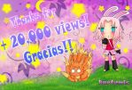 20000 VIEWS by Kartemis