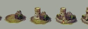 Castles Icon by Skeone