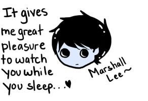 Marshall Lee Loves You by FreeCatHugs