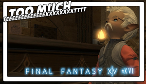 Final Fantasy XIV #XVI TOO MUCH TEXT!! QAQ by Vendus