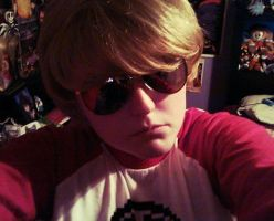Dave Strider Cosplay by FiveNightsAtFoxys