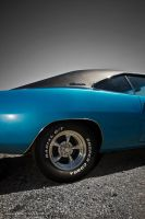 blue 68 charger III by AmericanMuscle