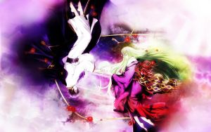 code geass:heavenly pair wall by kaki-tori