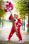 Infinite Crisis: Slumber Party Harley Quinn by LadyNoctis