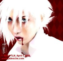 White and Blood Gackt by merit