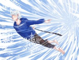 Jack Frost ROTG Wallpaper by vythefirst