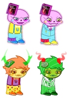 :: Sprite Edits: uU Tricksters :: by Tigerman-exe
