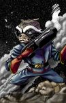 Rocket Raccoon by LucGrigg