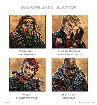 'Wasteland Justice' Drivers #1 by Jakdaw