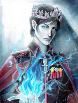 King Maven Calore (Red Queen series) by bethanyXD