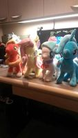 Whelp, these four arrived since the last picture.. by JaegerPony