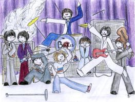 The Who Meets the Beatles by xlizx