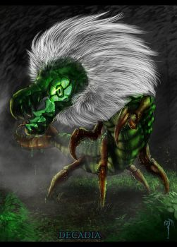 Realistic Centipeetle by Decadia
