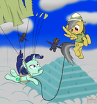 Daring-Do and the Temple of the Alicorn by phallen1
