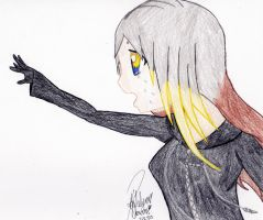 Becoming a Xehanort (Drawing and Poem) by RobotToxic