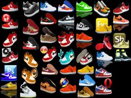 icons-air force ones by afronoodles
