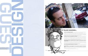 magazine layout by wasnot