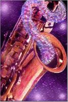 Jazzy Sax by vrgraphics