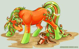Carrot Battle by AnnieMsson